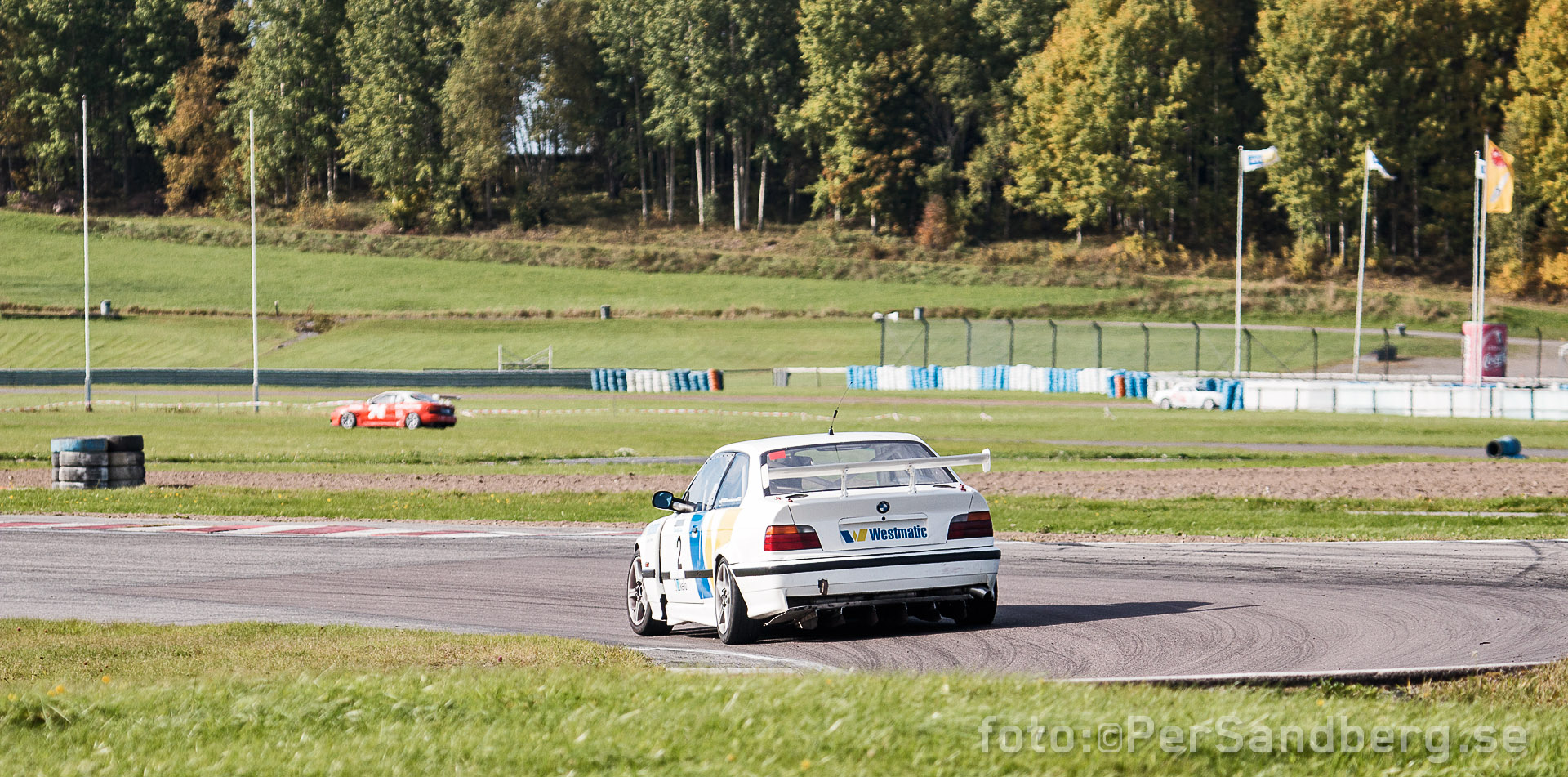 Westmatic Racing BMW M3 i Esset. NSHC final(race 6) Karskoga Motorstadion, foto: ©PerSandberg.se
